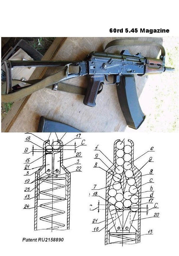 Ak 74 60 round magazine does such a thing a quad stack 545mm really exist and if so can gabe get some ccuart Images