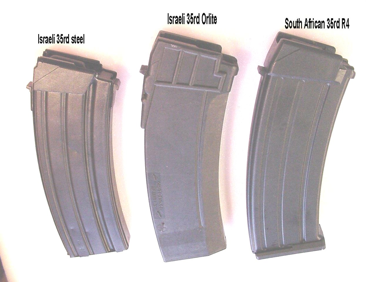 Galil 5.56 x 45mm Magazines: www.valmet.org/galil556mags.htm