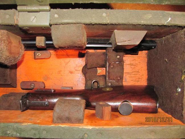Lewis Gun Transit Chest - Bren Light Machine Gun & Lewis Gun