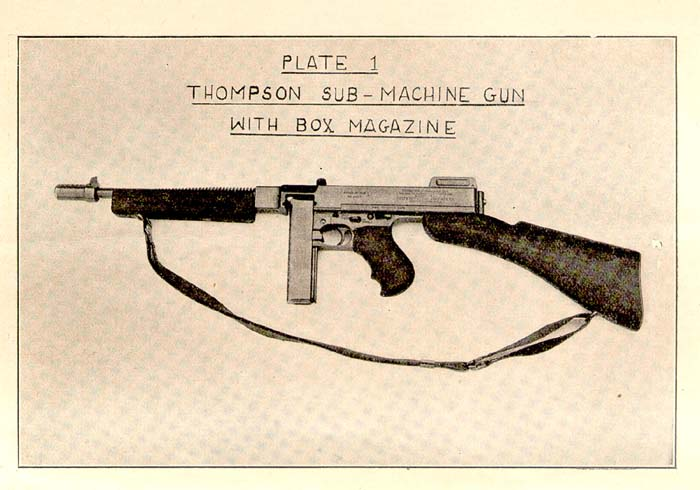 British M1928 Sling Attachment - 4 Variations - Thompson ...