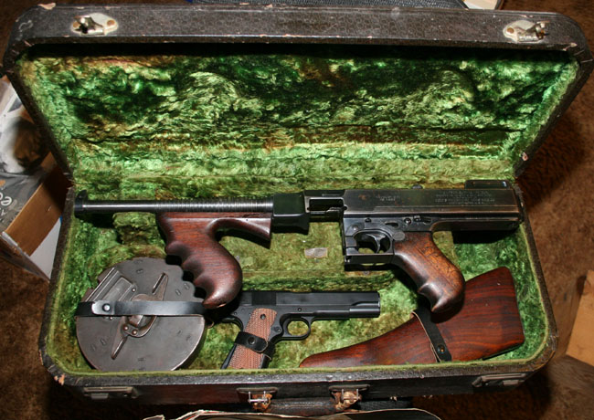 What Kind Of Cases Are These? - Thompson Submachine Gun ...