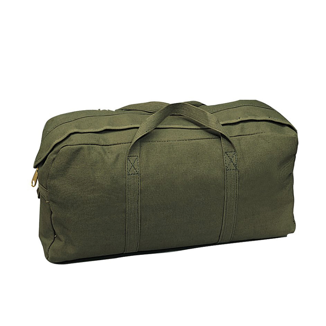 Shop Olive Drab Canvas Military Tanker Tool Bag - Fatigues Army Navy Gear  Bags