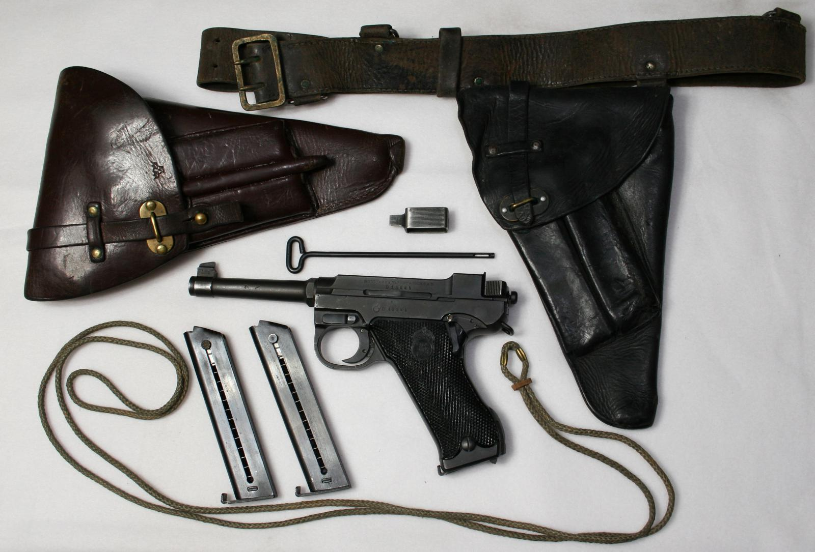 Lahti M40 Pistol Grouping