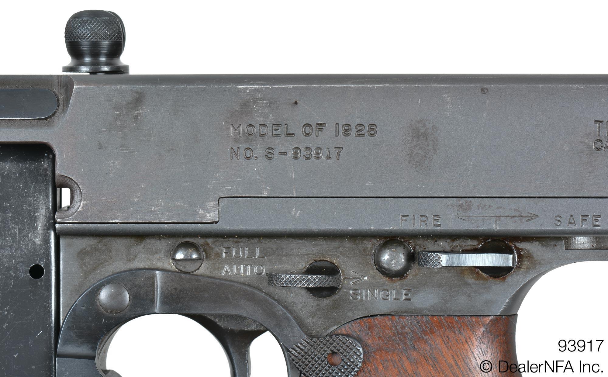 Savage, 1928, Early Thompson, 1941 - NFA Market Board