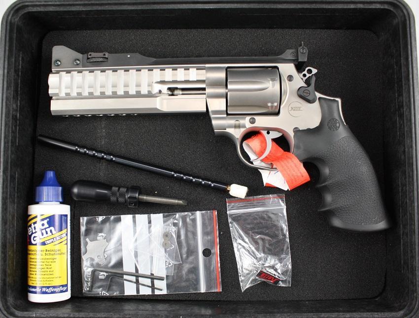 KORTH Supersport STX Silver  357 Revolver  LAST ONE IN STOCK