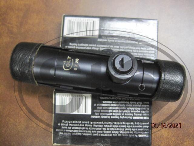 ORIG. COLT 3x20 scope EX.++mint.JPG